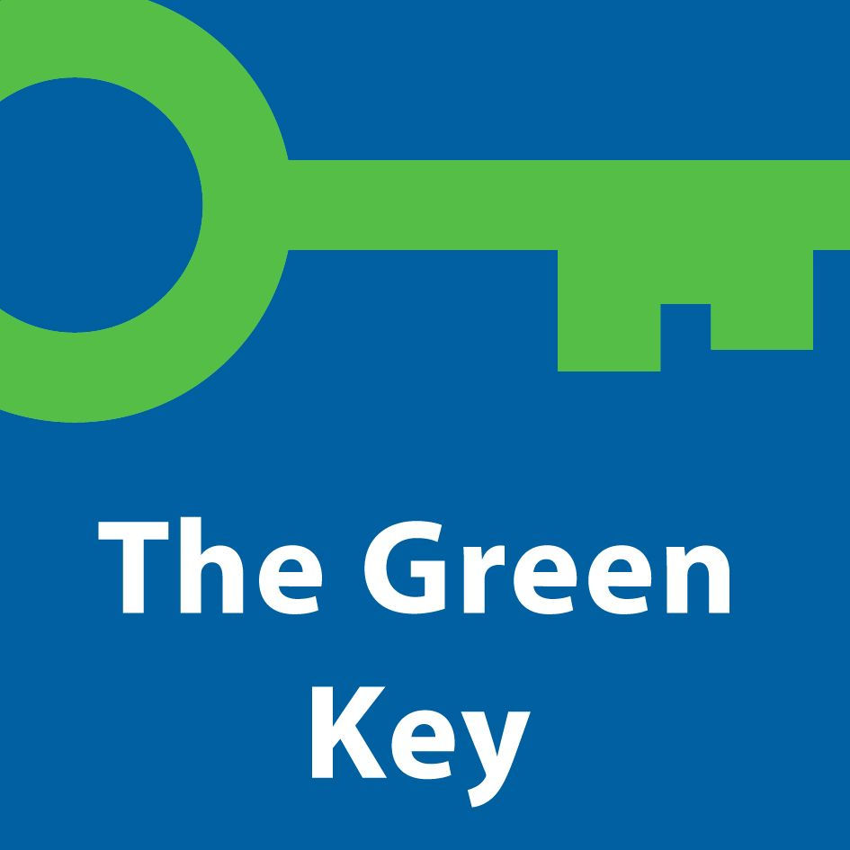Four Points Caguas Green Key Logo